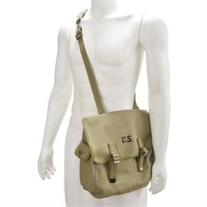 WWII U.S. M1936 Musette Bag with Shoulder strap Reproduction