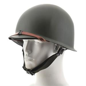 U.S. Steel Pot Helmet with Liner Set Reproduction
