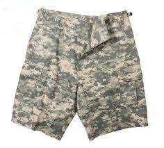 A.C.U. Digital Camo BDU Shorts