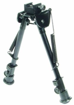 UTG Tactical OP Bipod - Tactical / Sniper Profile Adjustable Height