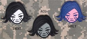 Battle Girl Patch