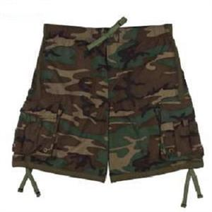 Rothco Tactical Woodland Camo Swim Trunks
