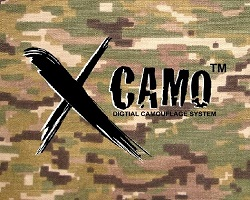 X-camo Digital Multicam Camoflaugue Clothing and Gear