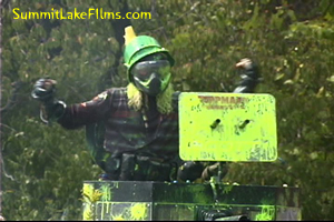 Weltman William Shatner Paintball Game Justin Brown